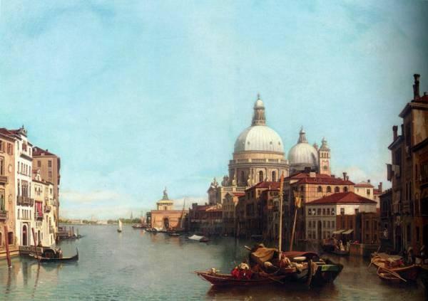 Francois Antoine Bossuet Le Grande Canal Venise 1878